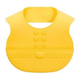 拉孚兒naforye 食在安全用餐學習軟質圍兜-貴族黃