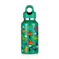 美國第二代無螺紋秒開式兒童保溫保冷瓶355ml- 植物綠