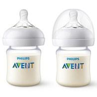 Philips Avent 親乳感PA防脹氣奶瓶-125ml(雙入) SCF472-28