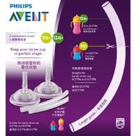 Philips Avent 繽紛吸管水杯配件組合200ml 300ml SCF797-00