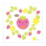 拉孚兒naforye 純棉四層紗布方型浴巾-草莓
