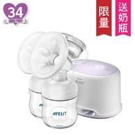 Philips Avent 輕乳感PP專業型雙邊電動吸乳器 SCF334-02